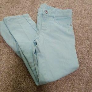 Gymboree light blue skinny jeans